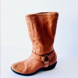 Frye Woman's Brown Boots Size 2.5= US 5